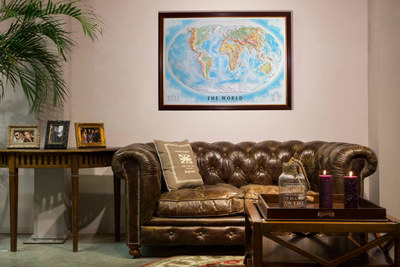 3D maps for home decoration