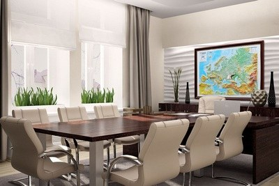 3D maps for office decoration