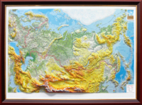 3d relief russia map wall decor testplay version lux thumbnail