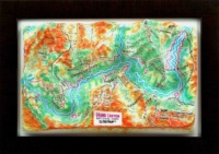 3d relief grand canyon united kingdom souvenir map decor testplay 3d magnet fridge