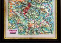3d relief moskow souvenir map decor testplay 3d magnet fridge th
