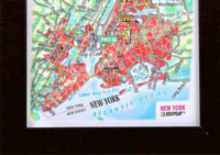 3d relief new york city souvenir map decor testplay 3d magnet fridge th
